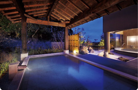 大浴場「月の湯」